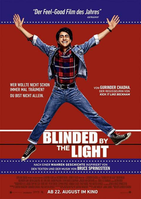 "Sehen Sie ""Blinded by the Light"" im Savoy Bordesholm"