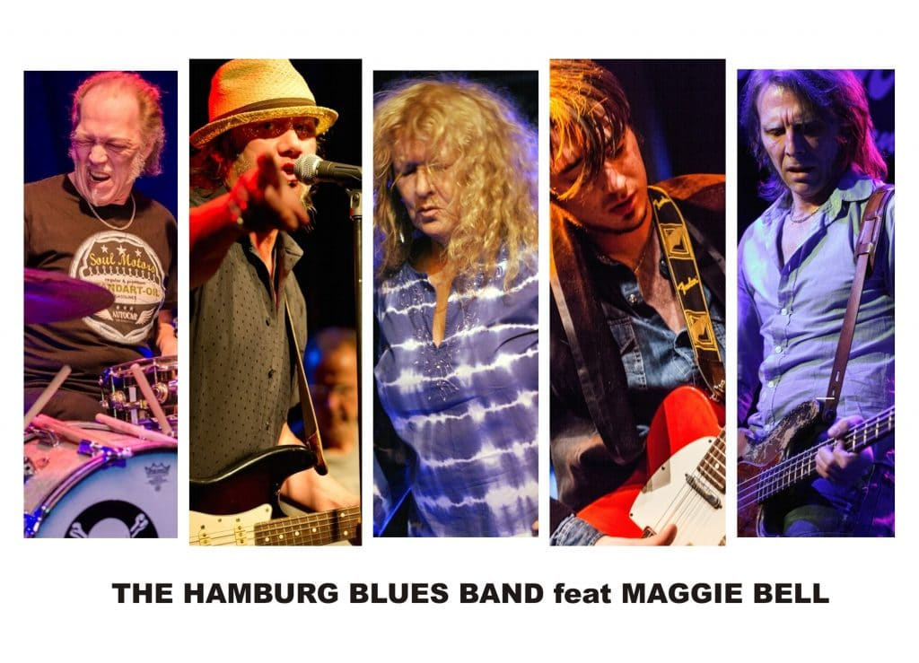 "Sehen Sie ""The Hamburg Blues Band feat. Pete Brown & Krissy Matthews"" im Savoy Bordesholm"